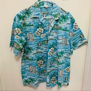 Vintage Creattions Hawaii Summer Outdoor Shirt